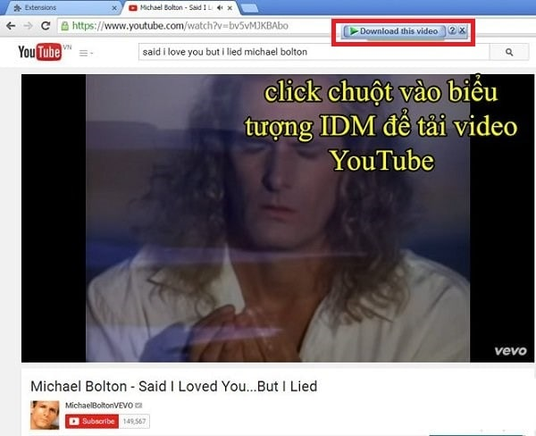 download video yotube bang idm