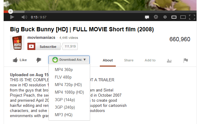 download video youtube bang add on tren firefox 2