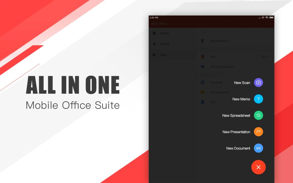 Ứng dụng WPS Office - All in one